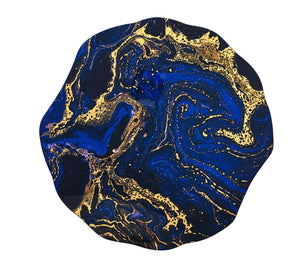 Kim Seybert Cosmos Placemat In Midnight & Gold - Set of 4 PM2170611MDGD