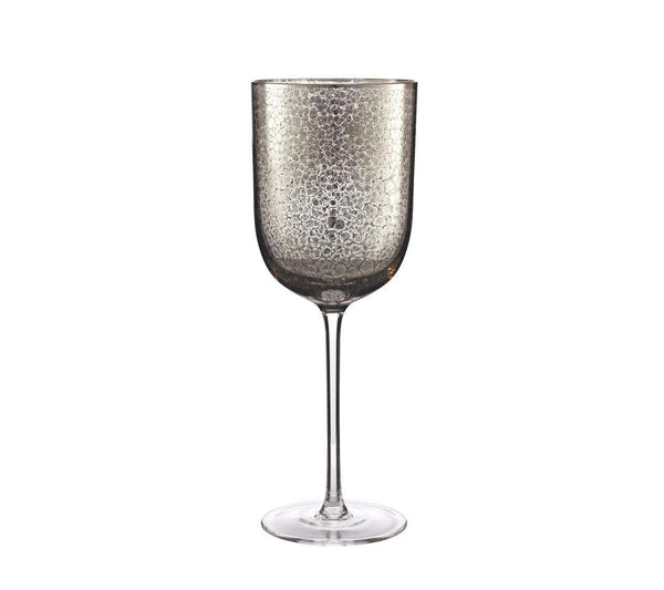 Kim Seybert Crackle Goblet In Platinum - Set of 4 DW2148976PLTM