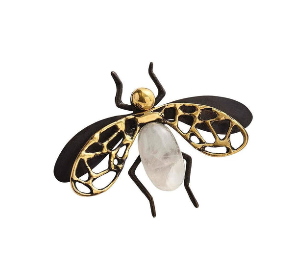 Kim Seybert Fly Away Napkin Ring - Set of 4 NR1170539BKMT