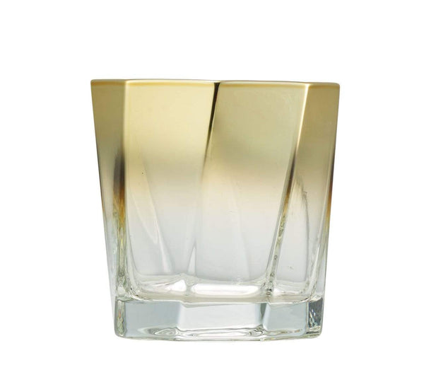 Kim Seybert Helix Double Old Fashioned In Gold - Set of 4 DW1180840GD