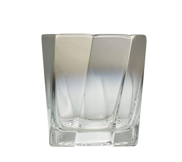 Kim Seybert Helix Double Old Fashioned In Silver - Set of 4 DW1180840SLV