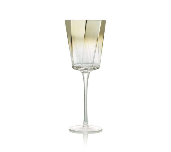 Kim Seybert Kim Seybert Helix Goblet in Gold - Set Of 4 DW1180842GD