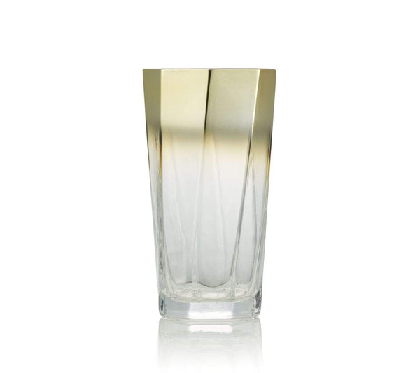 Kim Seybert Helix Tumbler In Gold - Set of 4 DW1180841GD