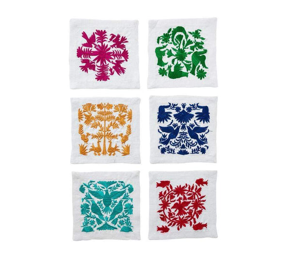 Kim Seybert Otomi Cocktail Napkins - Set of 6 NA1180858MT
