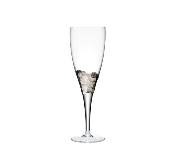 Kim Seybert Paillette Goblet In Platinum - Set of 4 DW1052085BPLTM