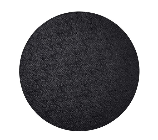 Kim Seybert Kim Seybert Shagreen Placemat In Black - Set Of 4 PM2150003BLK
