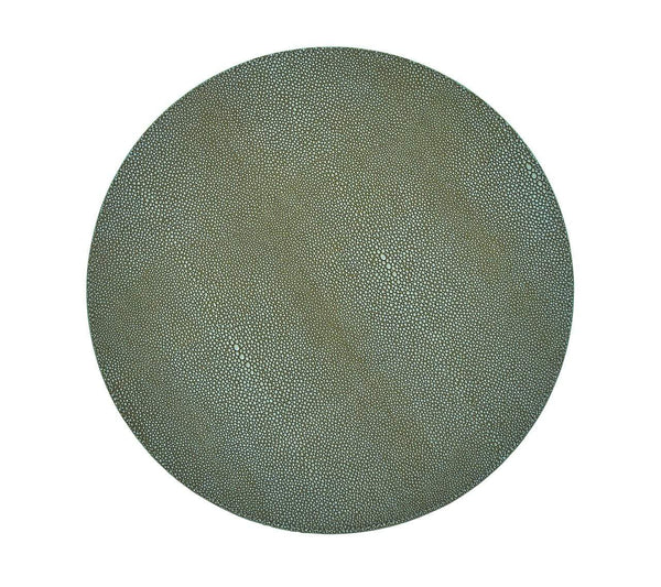 Kim Seybert Shagreen Placemat In Sage - Set of 4 PM2150003SAGE