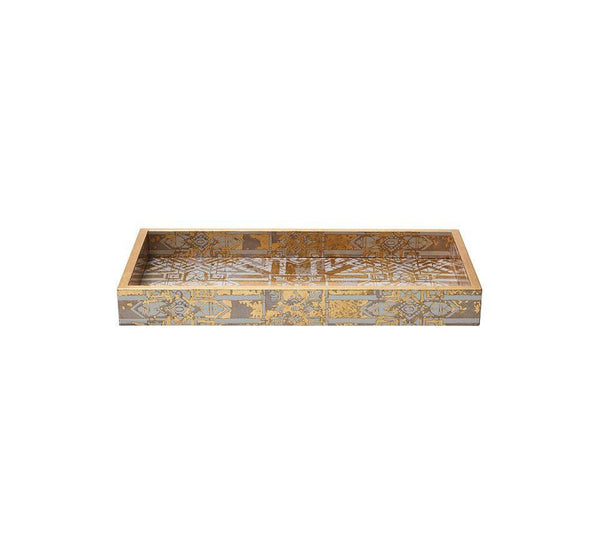 Kim Seybert Small Distressed Tray DH1170544CHGD