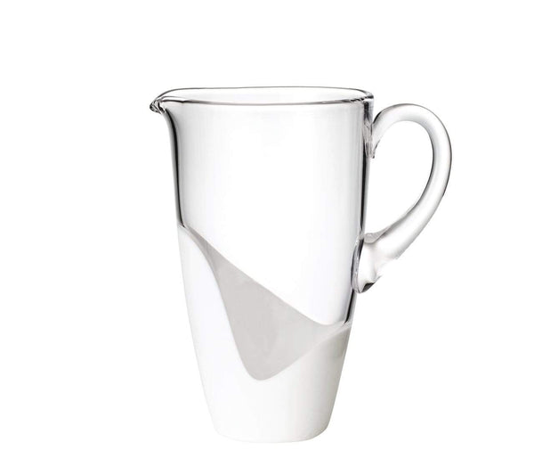 Kim Seybert Vague Pitcher In White DW1160205CLWH