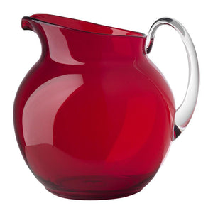 Mario Luca Giusti Mario Luca Giusti Acrylic Palla Pitcher - Available in 16 Colors Red M1100220