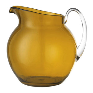 Mario Luca Giusti Mario Luca Giusti Acrylic Palla Pitcher - Available in 16 Colors Amber M1100420