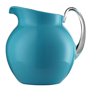 Mario Luca Giusti Turquoise Acrylic Palla Pitcher - 13 Colors M1110820