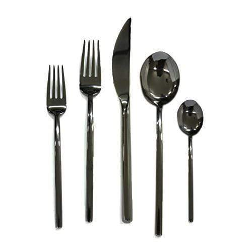 Mepra Mepra Due Oro Nero 5-Piece Flatware Set 108622005