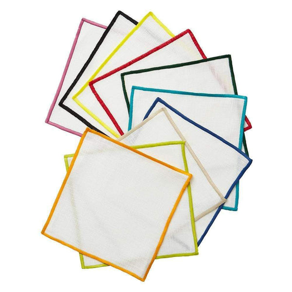Mode Living Bel Air Colors Cocktail Napkins