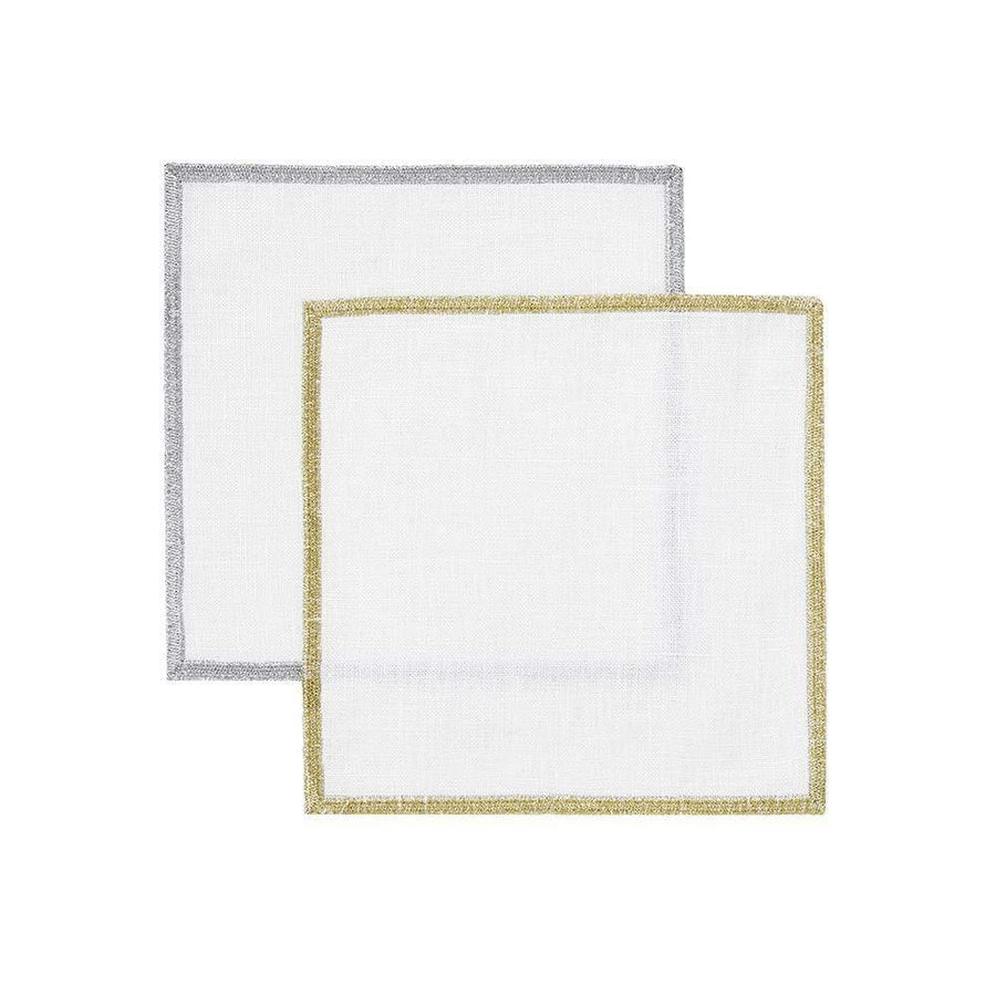 Mode Living Bel Air Metallic Cocktail Napkins