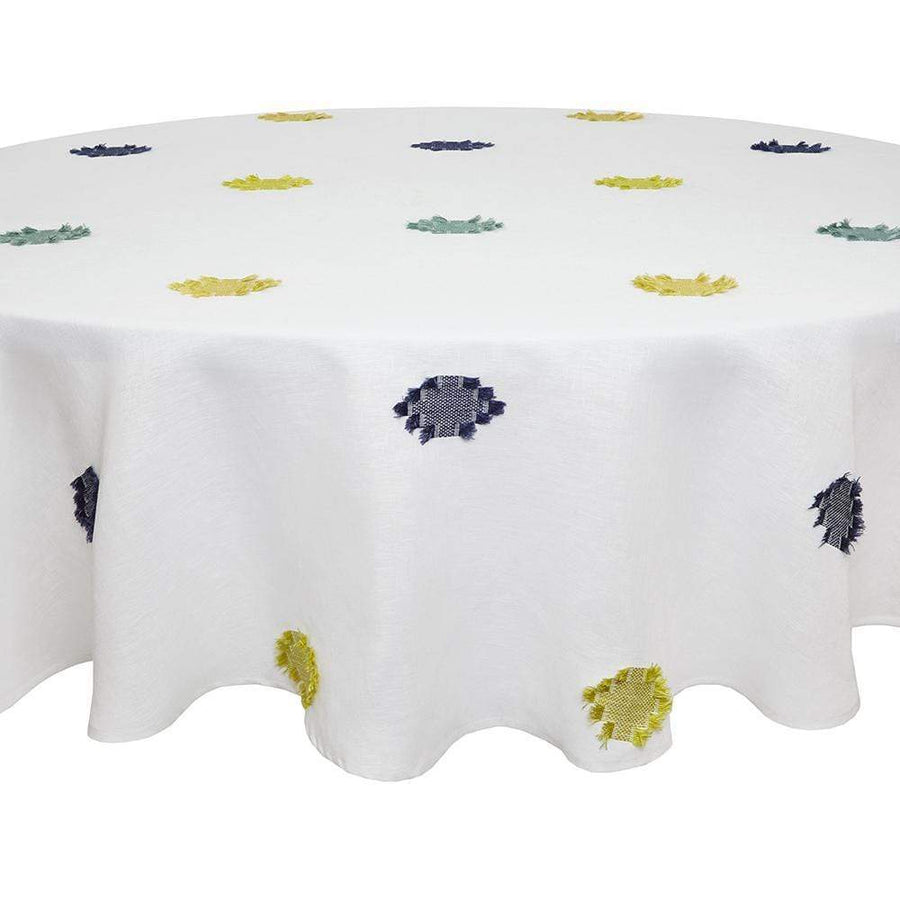 "Mode Living 70""x90"" Cap Ferrat Tablecloth"
