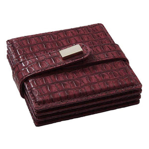 Mode Living Burgundy Everglades Coasters, S/4