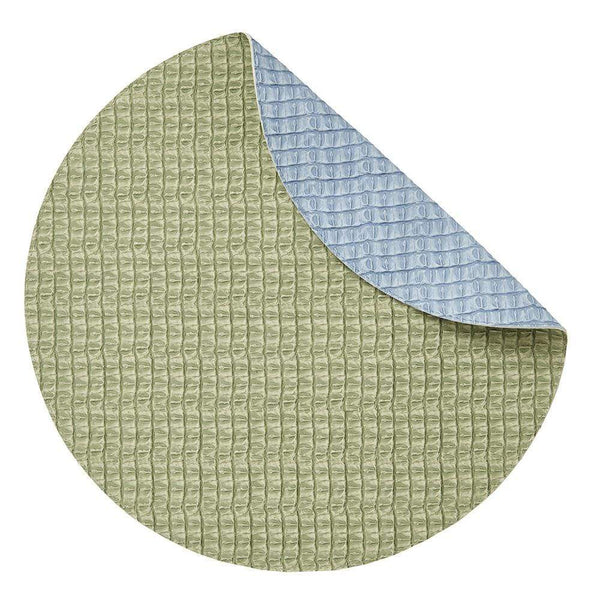 Mode Living Blue-Green Everglades Placemats, S/4 Round