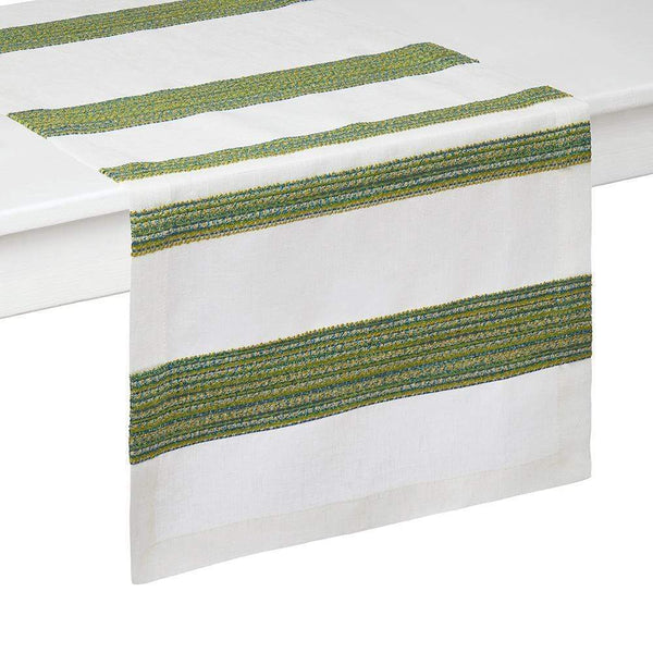 "Mode Living Mode Living Maya Table Runner Green - 16"" x 90"" VA02609R-GR"