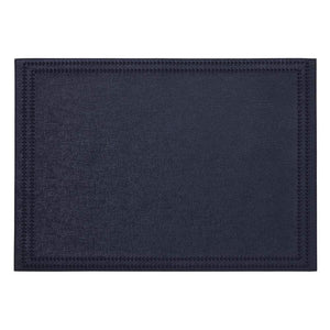 Mode Living Navy Paloma Placemats, S/4 Rectangle
