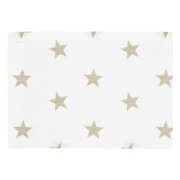 Mode Living Gold Starry Night Placemats, S/4