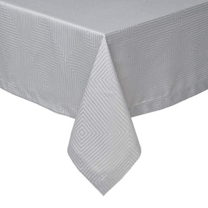 "Mode Living 66""x66"" / Light Gray Tokyo Tablecloth"