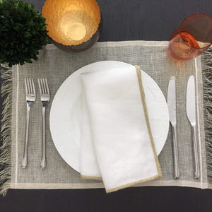 Mode Living Gold Venice Placemats, S/4