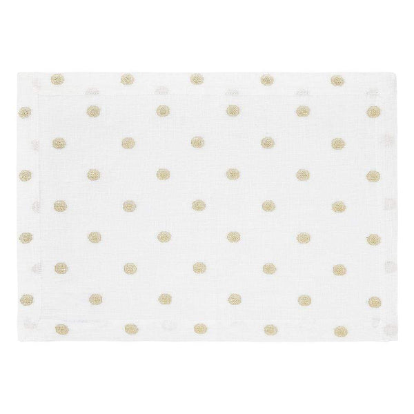 Mode Living Gold Vogue Placemats, S/4