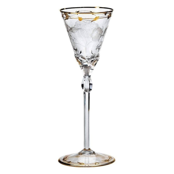 Moser Art Nouveau Crystal White Wine Glass PLA-G-00300-1-00