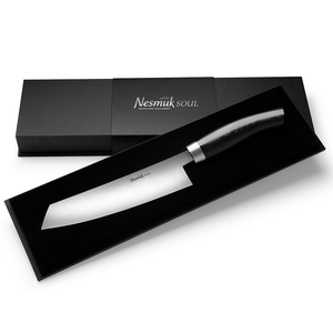 Nesmuk Nesmuk Soul Chef Knife 140 Micarta Black S3MB1802012