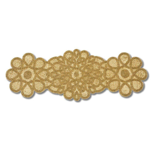 Nomi K Small Gold Flower Runner AI-2694-2SM