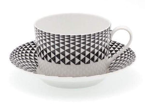 Royal Limoges Black Diamonds Tea Cup R300-REC20748