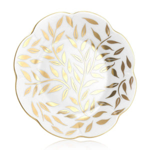 Royal Limoges Olivier Gold Bread & Butter Plate B160-NYM20583