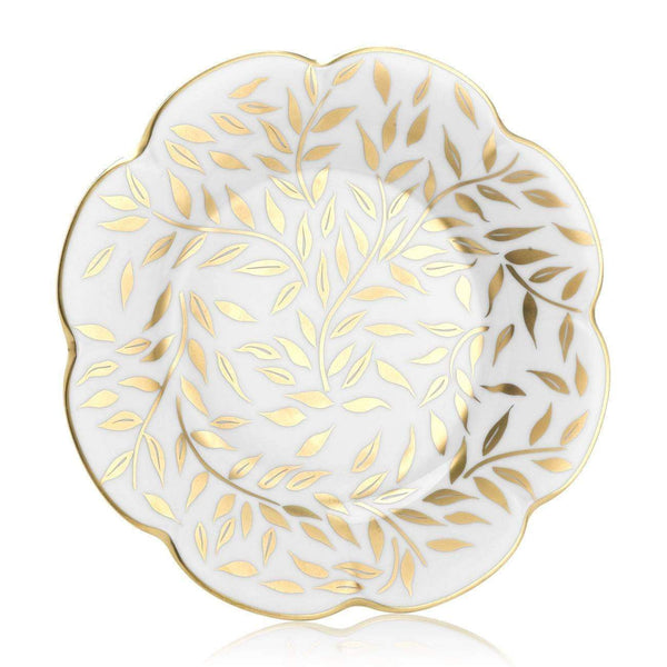 Royal Limoges Olivier Gold Dessert Plate B220-NYM20583