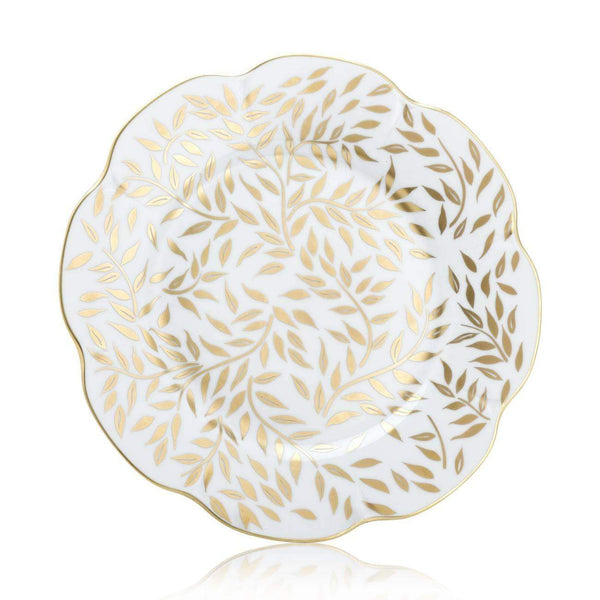 Royal Limoges Olivier Gold Dinner Plate B280-NYM20583