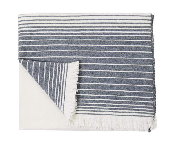 S. Harris S. Harris Ajax Cashmere Throw Blanket in Tavern 7675001