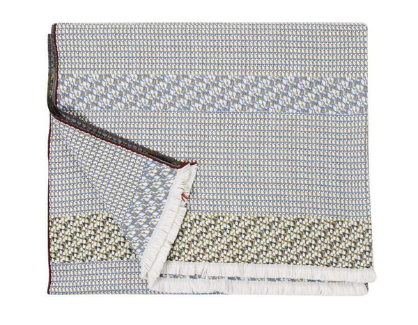 S. Harris Cache Cache Cashmere Throw Blanket in Greystone 7671301
