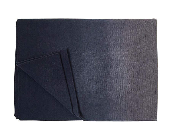 S. Harris S. Harris Spring Ombre Cashmere Throw Blanket in Greystone 7680103
