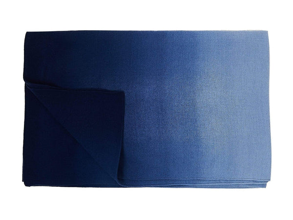 S. Harris Spring Ombre Cashmere Throw Blanket in Skycloud 7680101