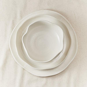 Style Union Home Style Union Home 3 Piece Malibu Dinner Set in Blanc 20022SUHMB0002