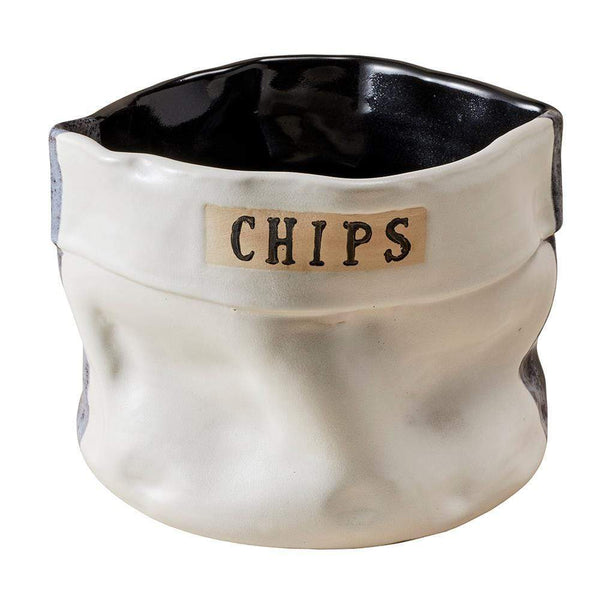 Style Union Home Style Union Home Cindy Chip Bowl - Noir Blanc 20056SUHMBAC03