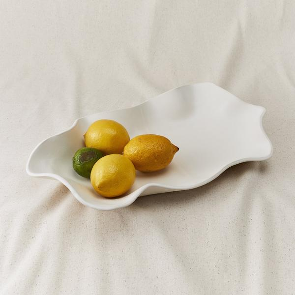 Style Union Home Willow Tray - Blanc
