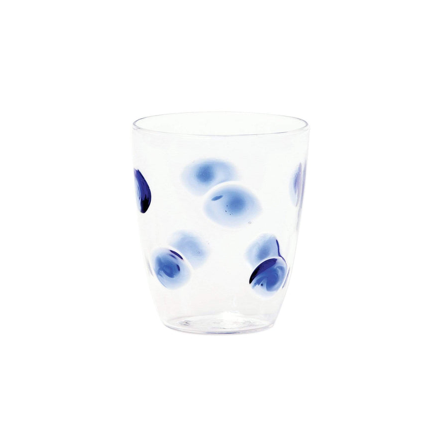 Vietri Vietri Drop Glass Short Tumbler - 3 Available Colors