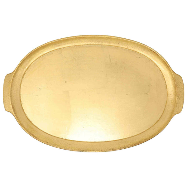 Vietri Florentine Wooden Gold Accessory Handled Tray FWD-6218