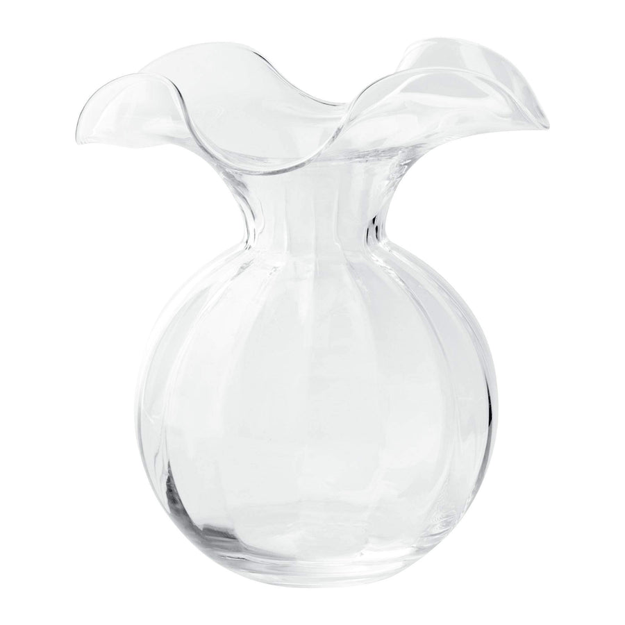 Vietri Vietri Hibiscus Glass Fluted Vase - 3 Available Sizes