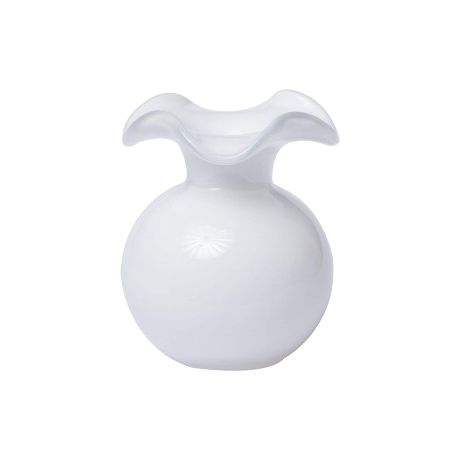Vietri Hibiscus Glass Vase - 7 Available Colors