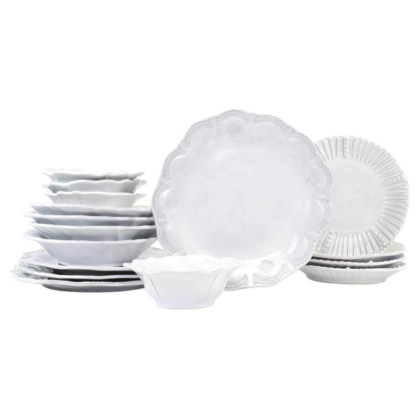 Vietri Incanto Assorted Sixteen-Piece Place Setting INC-1100S-16