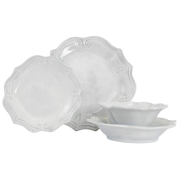 Vietri Incanto Baroque Four-Piece Place Setting INC-1100CS-4