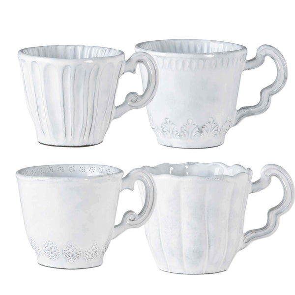 Vietri Vietri Incanto Baroque Mugs INC-1110