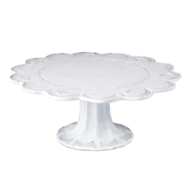 Vietri Incanto Lace Large Cake Stand INC-1173